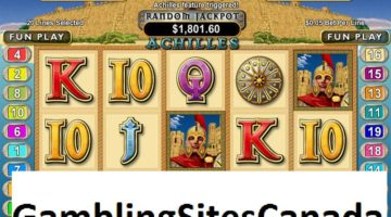Achilles Slots Game