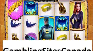 Batman and Catwoman Cash Slots Game