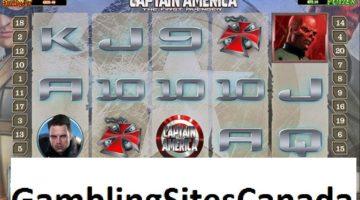 Captain America Slots Game
