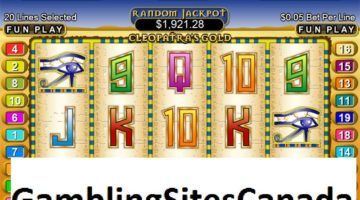 Cleopatras Gold Slots Game