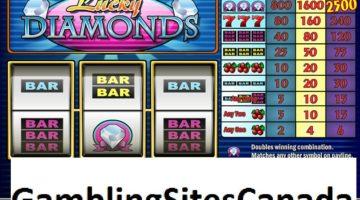 Lucky Diamonds Slots Game
