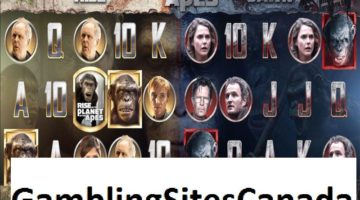 Planet of the Apes Slots Game
