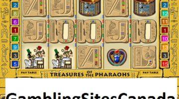 Treasures of the Pharaohs Slots Game