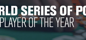 WSOPE PLAYER OF THE YEAR